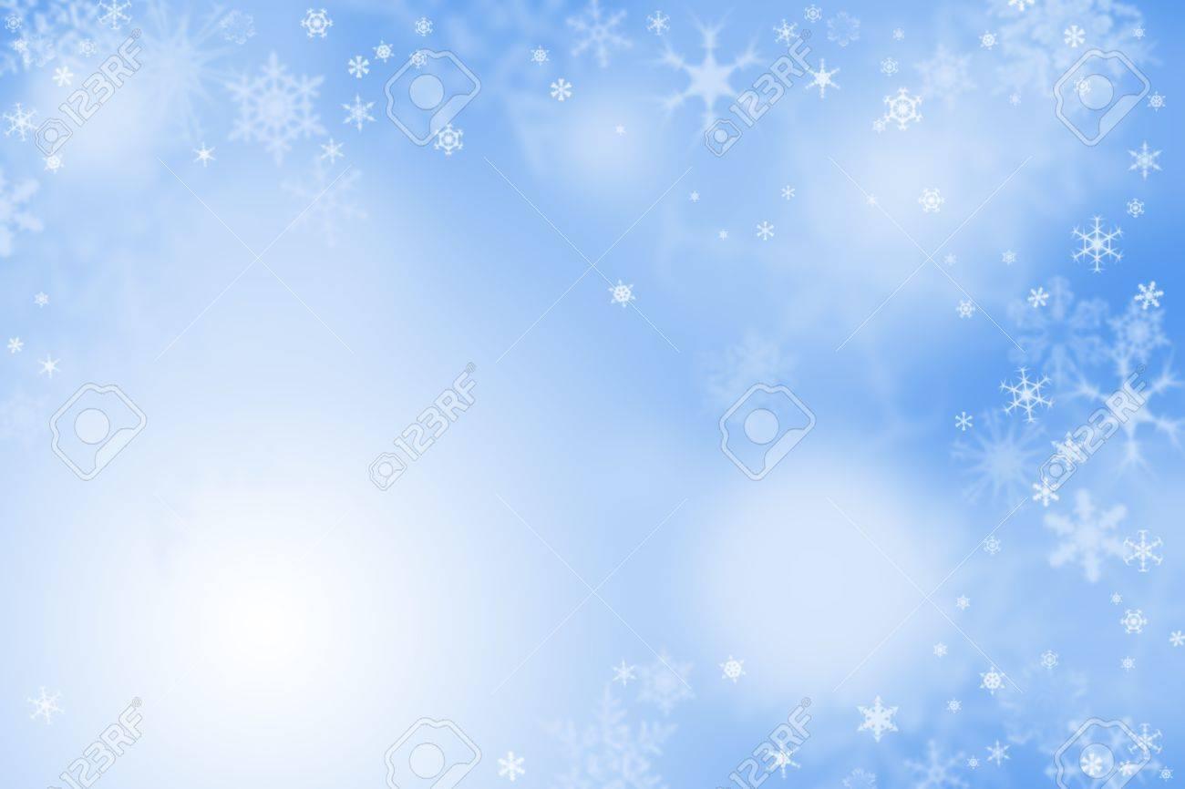 雪と光の青い冬の壁紙 の写真素材 画像素材 Image 16766484