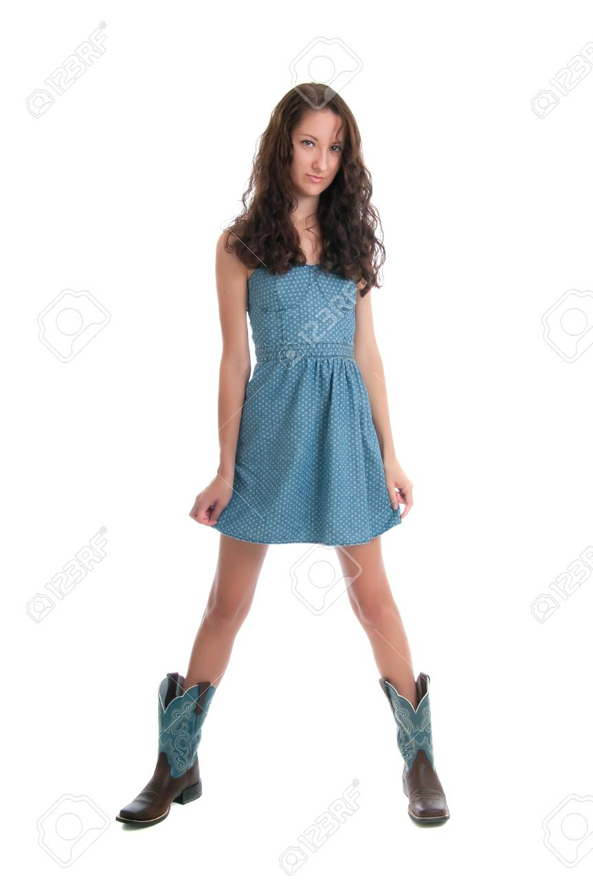 boots for short dresses