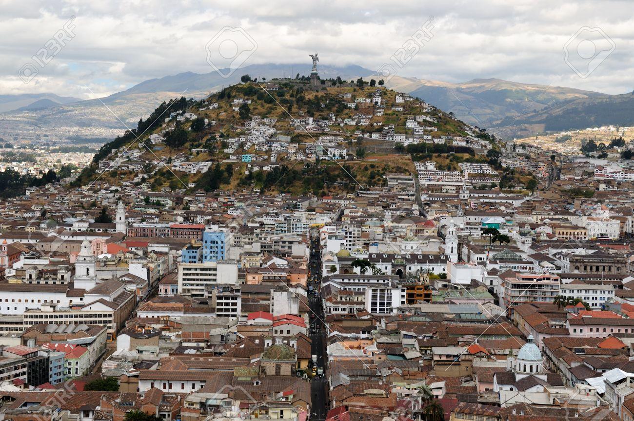 Quito The Capital Of Ecuador Quito Is A Beautifllly Set City - Capital of ecuador