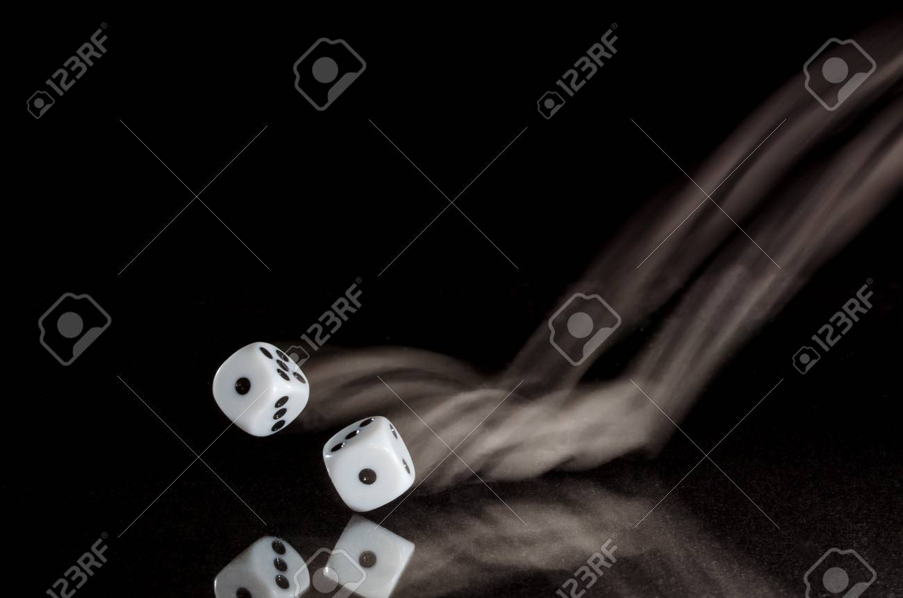Coming Up Snake Eyes On A Roll Of The Dice Stock Photo Picture And