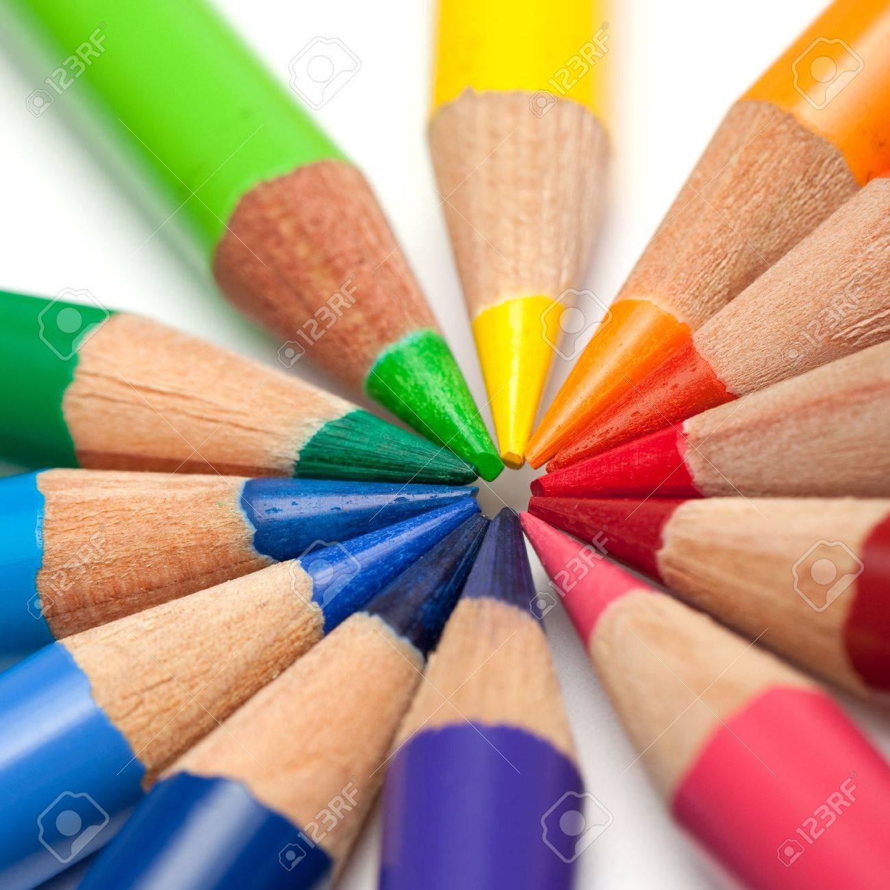 Coloured crayons Stock Photo - 11393561