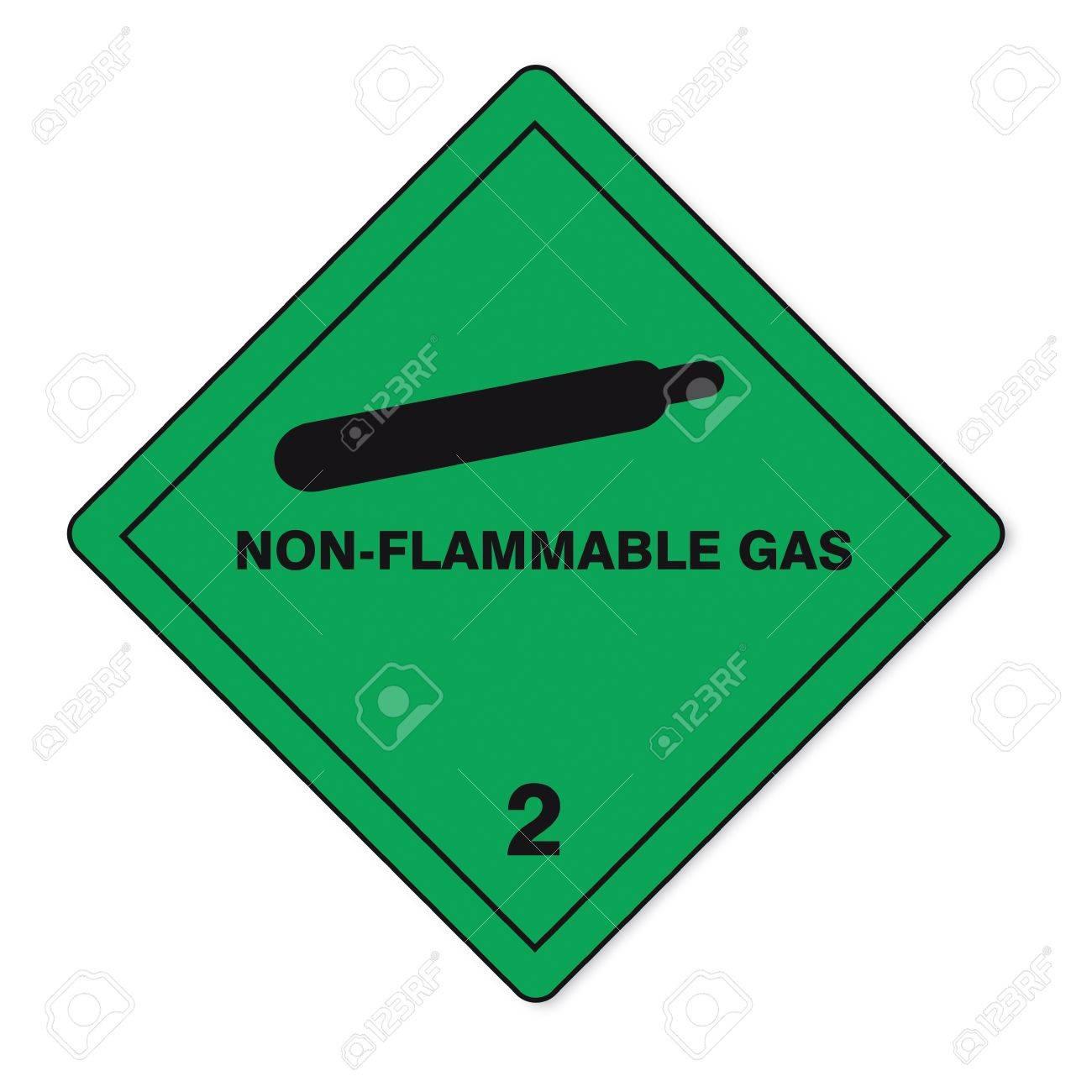Hazardous substances signs icon flammable skull radioactive fire gas Stock Vector - 14380138