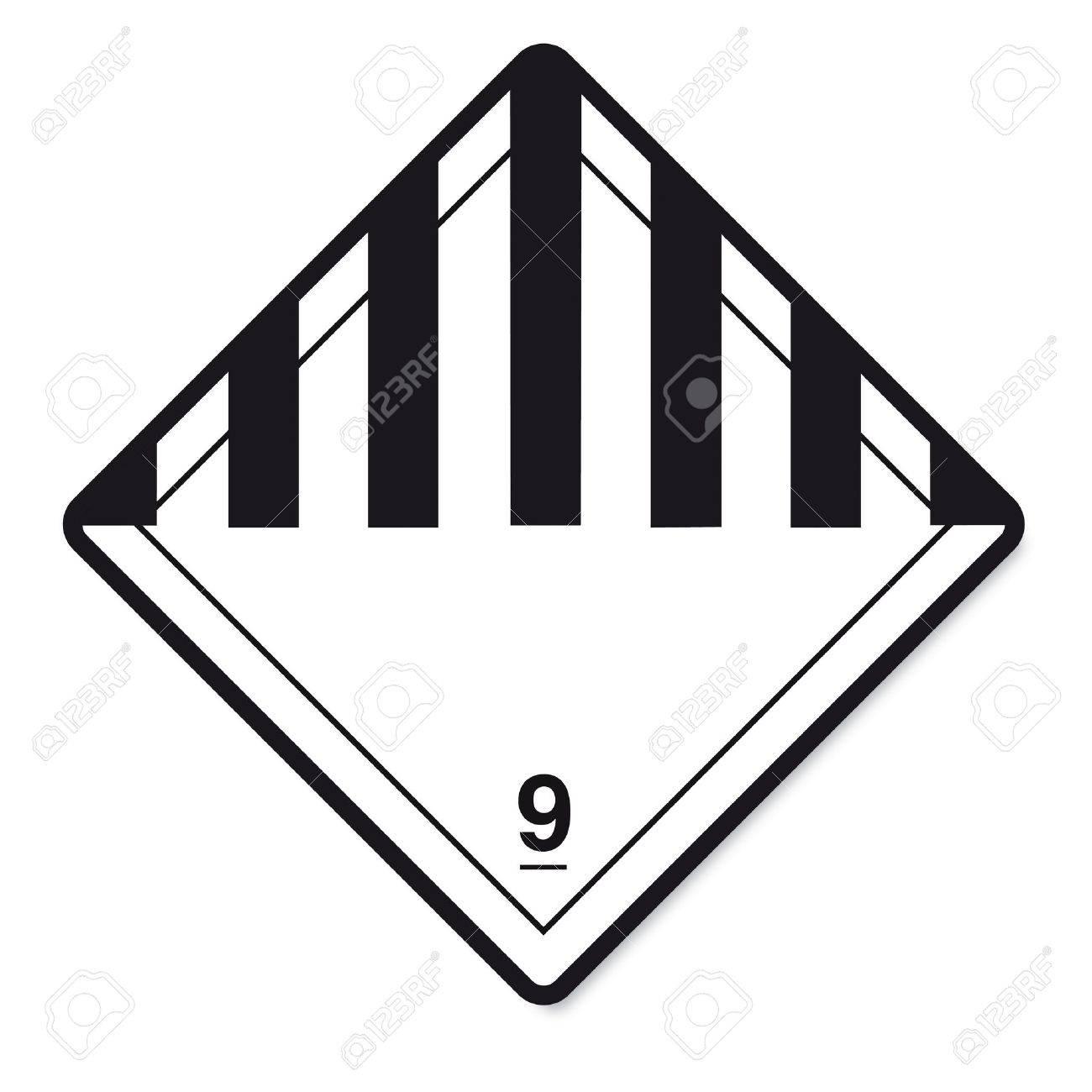 Hazardous substances signs icon flammable skull radioactive hazard corrosive Stock Vector - 14380212