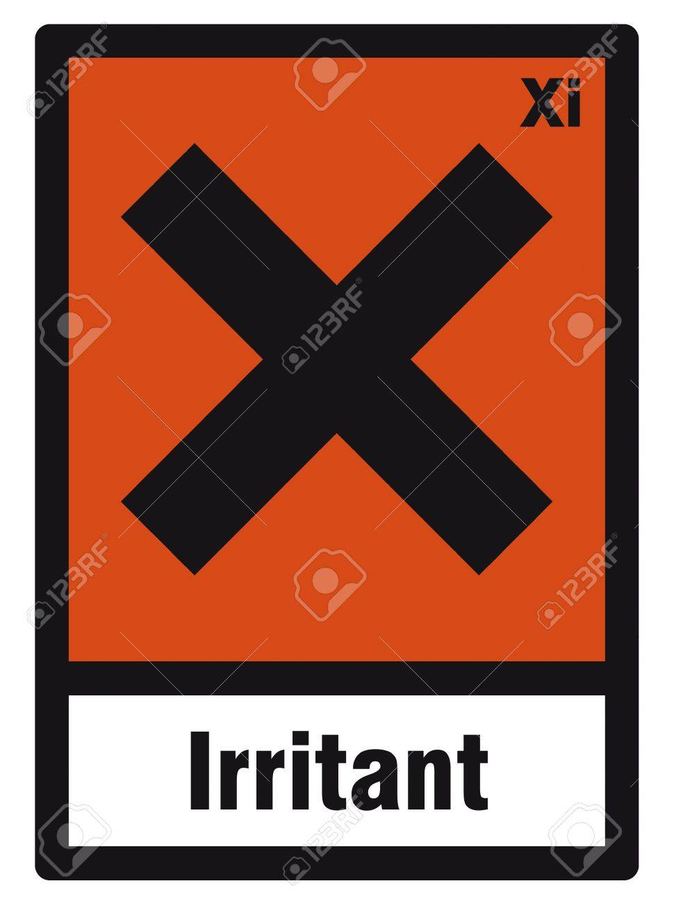 Safety sign danger sign hazardous chemical chemistry irritant safety sign danger sign hazardous chemical chemistry irritant stock vector 14377072 biocorpaavc Gallery