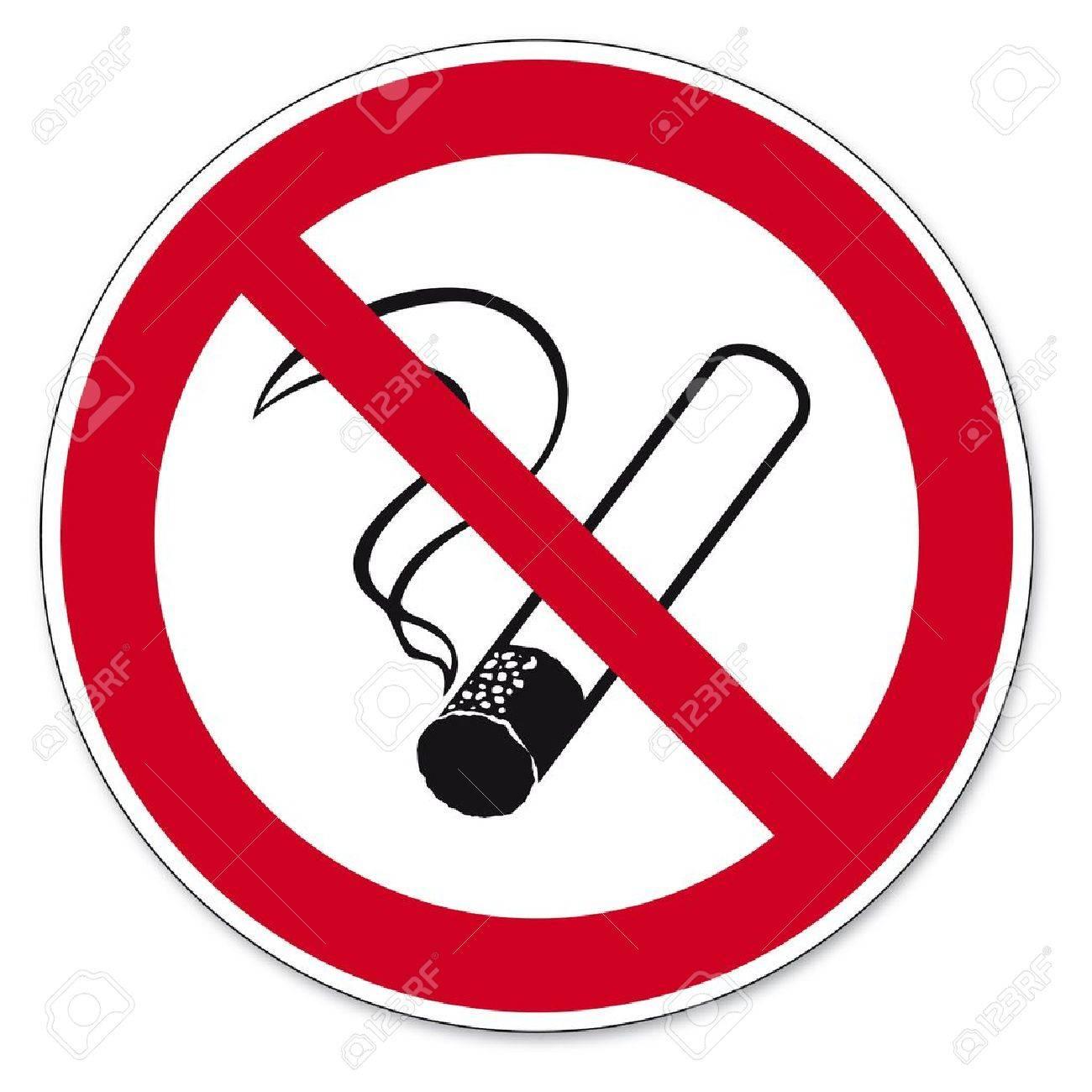 Prohibition signs BGV icon pictogram No smoking cigarette Stock Vector - 14511791