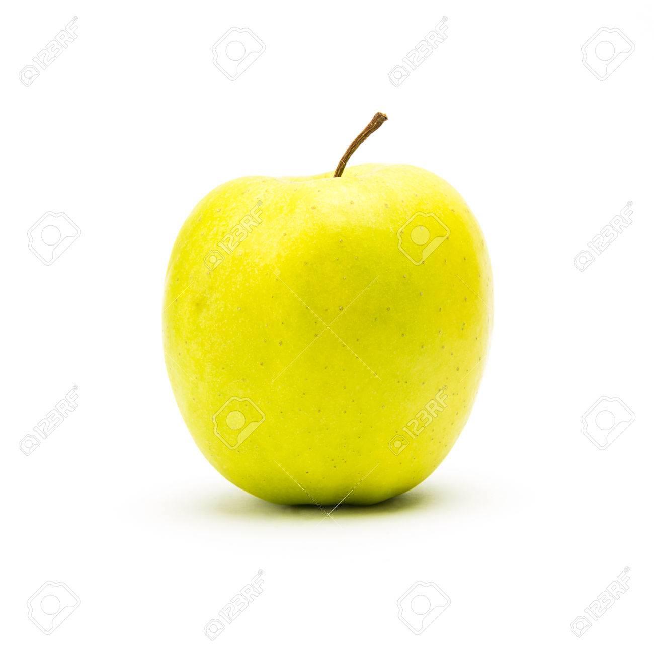 картинки яблоко желтое