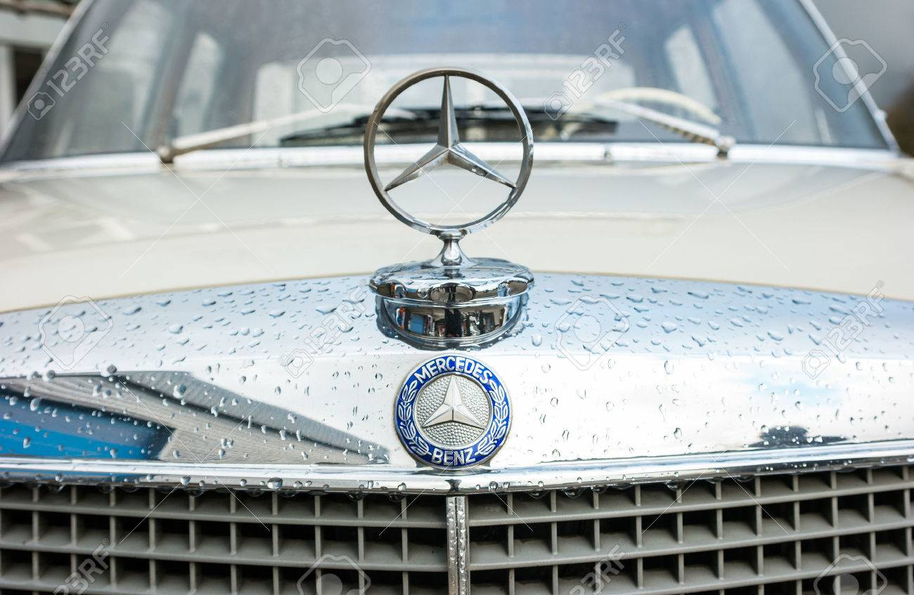 Aachen Germany March 2017 Mercedes Benz Classic Car Logo On Stock Photo Picture And Royalty Free Image Image 73976807
