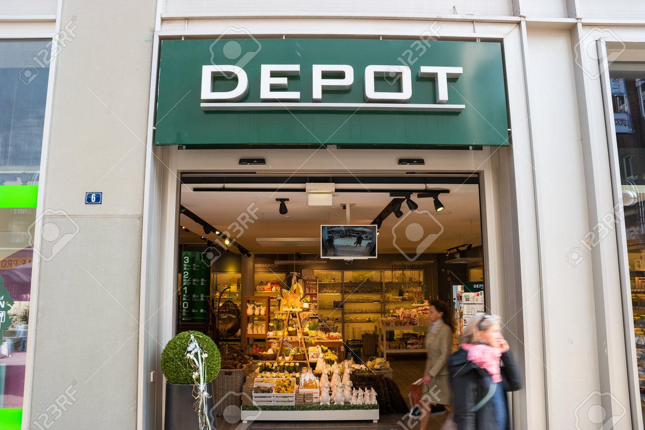 Frankfurt Deutschland März 2017 Depot Dekoration Store Depot Ist