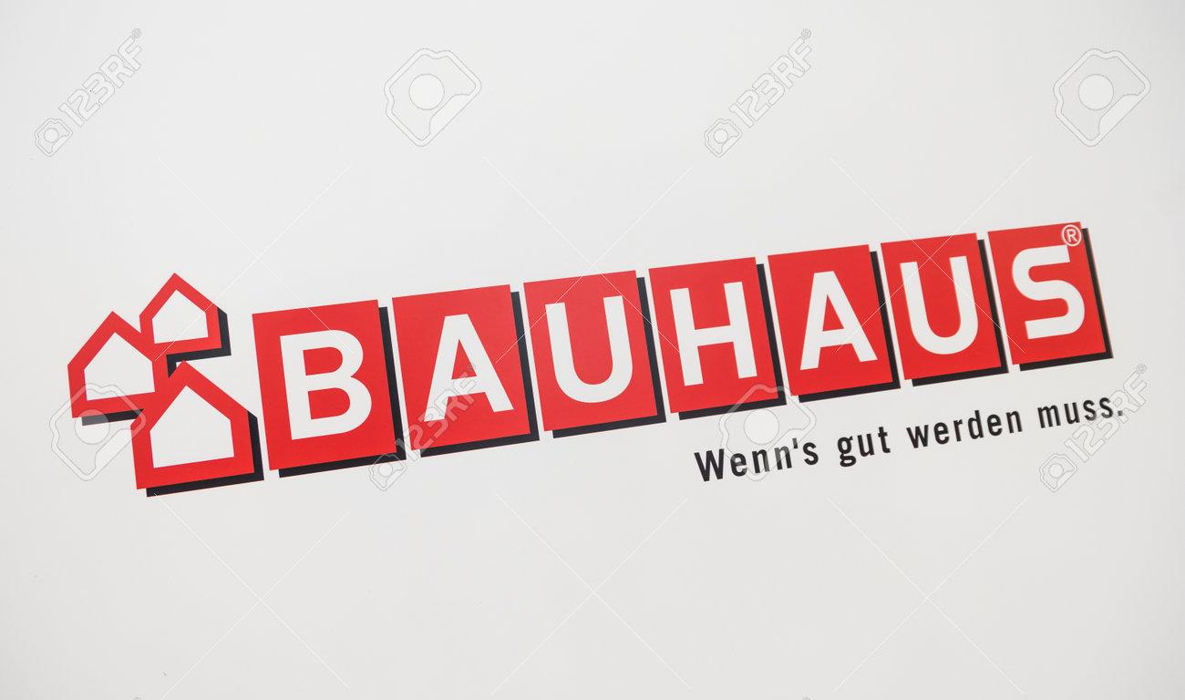 Cologne Germany September 2017 Bauhaus Shop Logo Headquartered