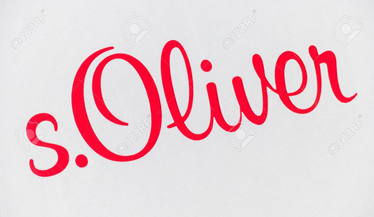 innovatives Design unschlagbarer Preis abwechslungsreiche neueste Designs AACHEN, GERMANY OCTOBER, 2017: The logo of the brand s, Oliver...