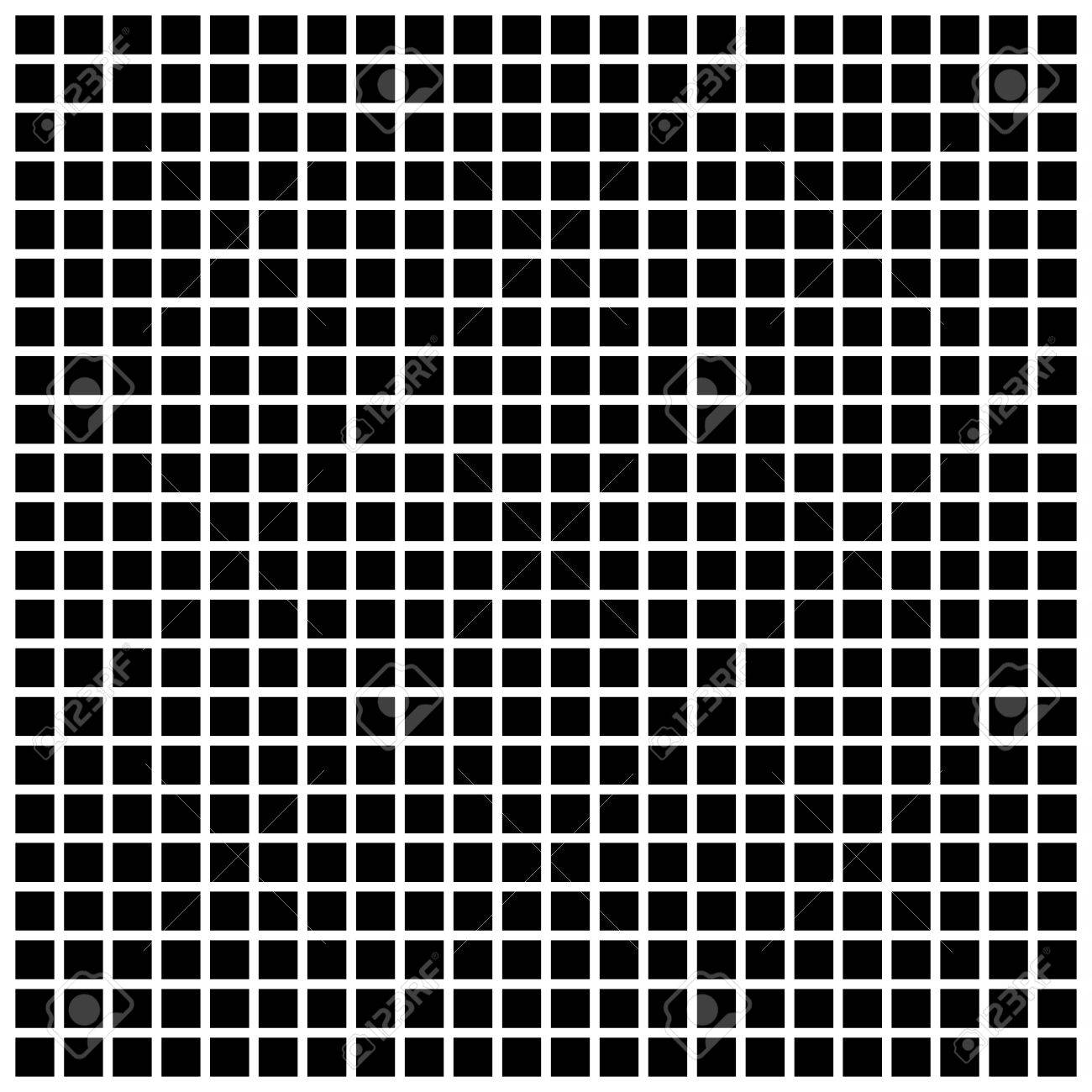 Square The Simple Geometric Pattern Of Black Squares With Shadowed