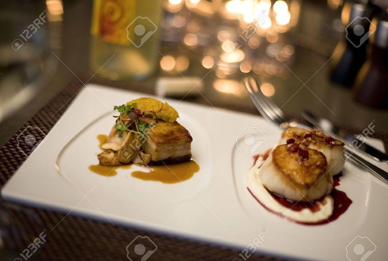 Fine dining Stock Photo - 4737113