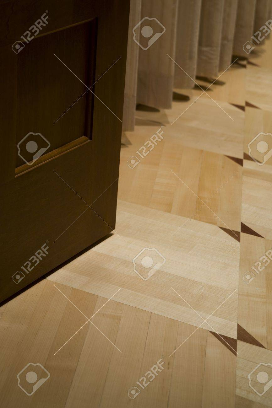 Custom woodwork in a penthouse apartment Stock Photo - 6230803