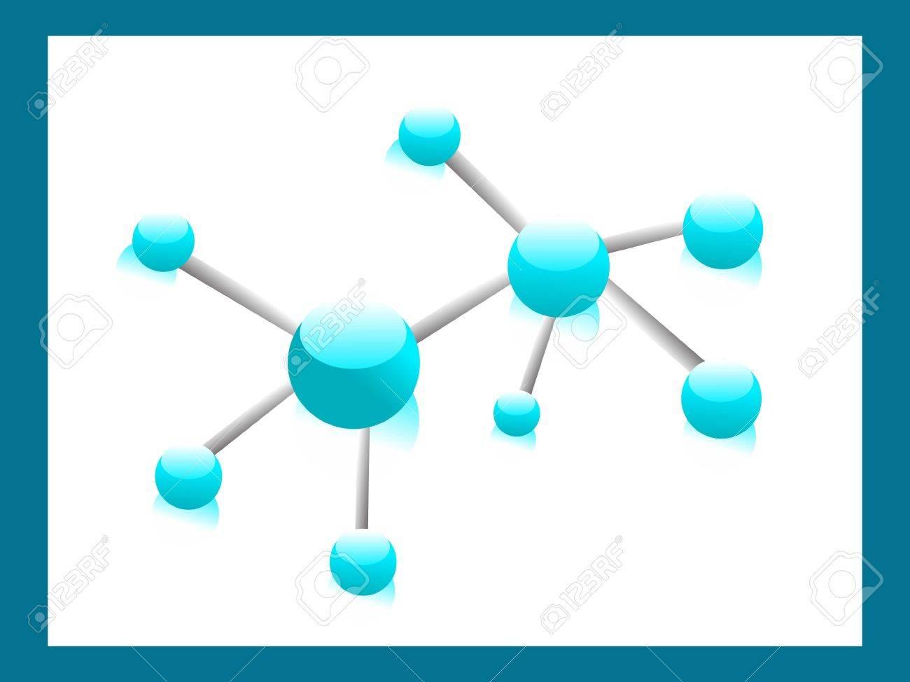 chemical bonding in frame Stock Photo - 3315956