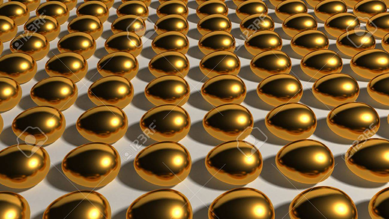 This gold eggs industry represent the theme of finances, Savings and other investments. - 10277961
