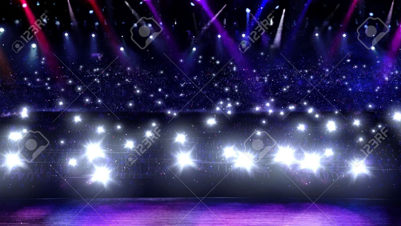 this music concert stage is for musical theme - 11193829