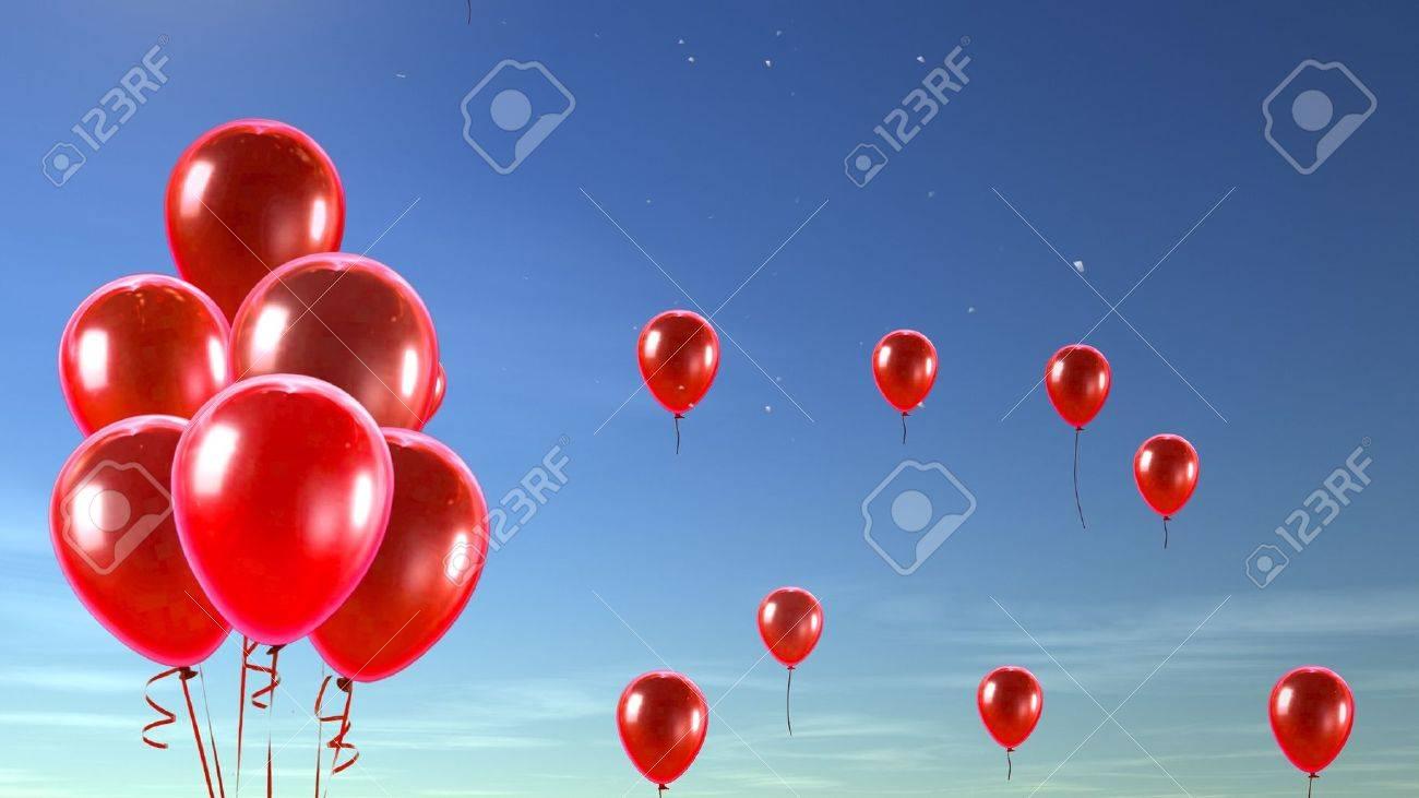 balloon in the sky - 12403524