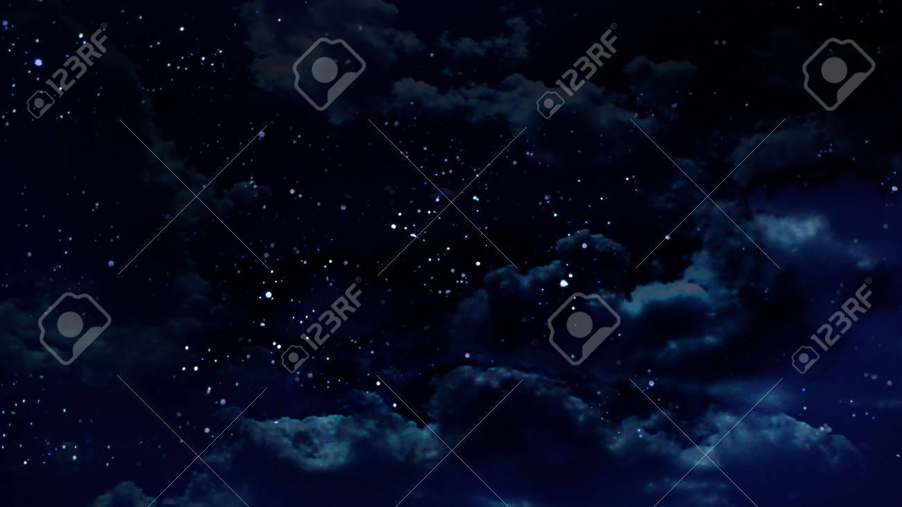 the beauty night sky with star background - 12403422