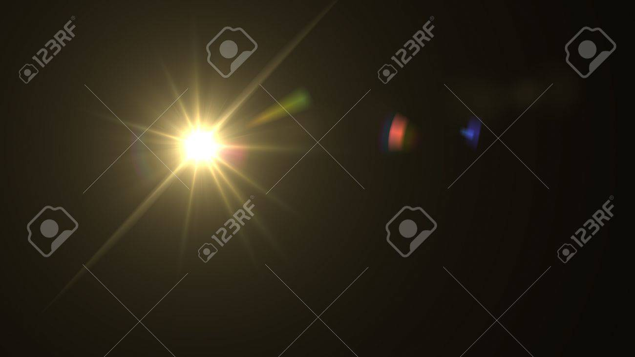 light flare special effect - 12403825