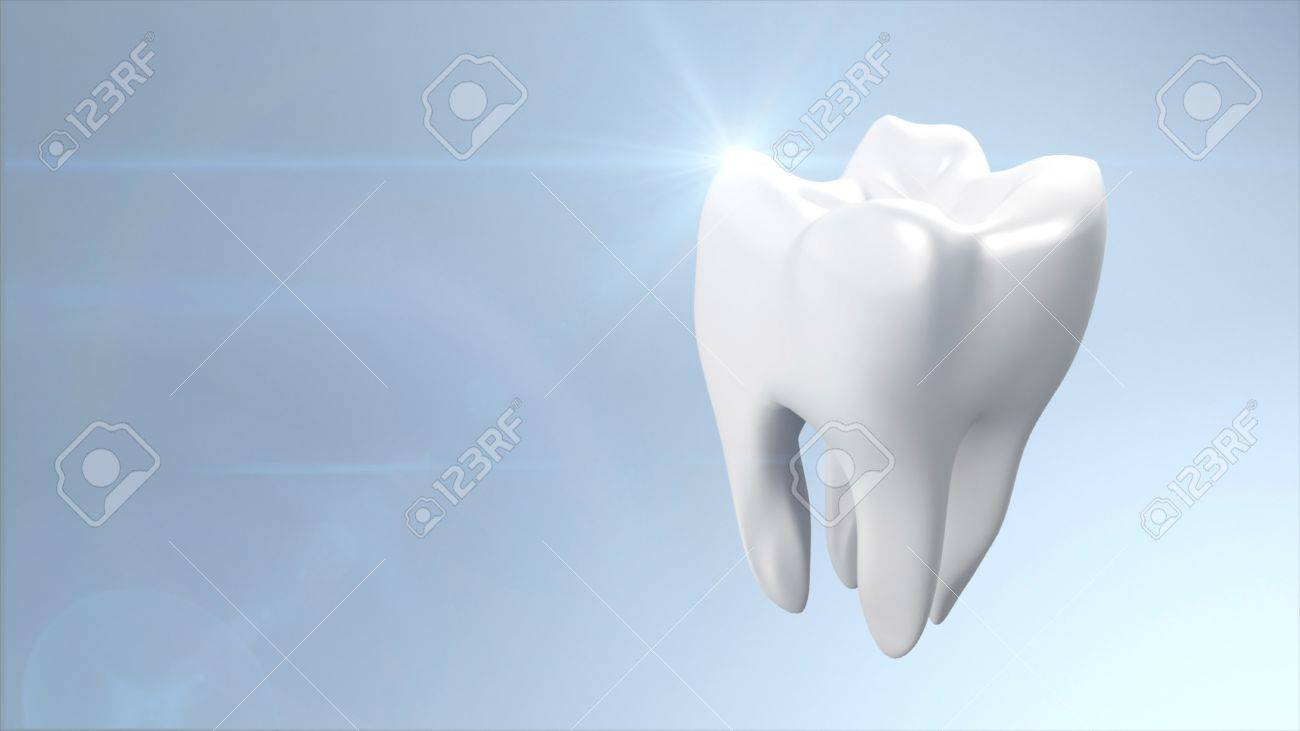 The health of white tooth for tooth care concept Stock Photo - 12980180