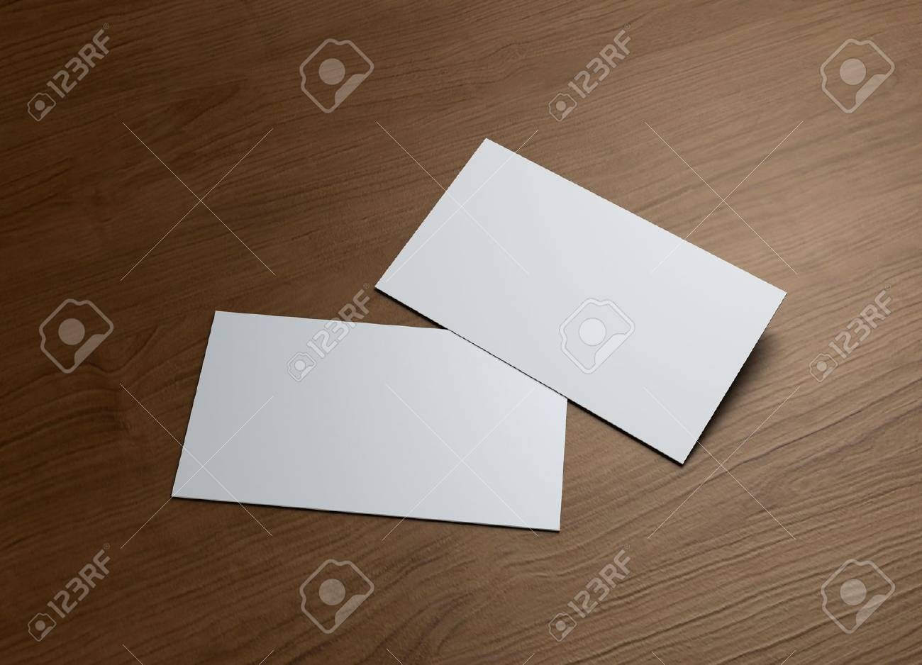 This business card presentation for promotion of Corporate identity - 12980185