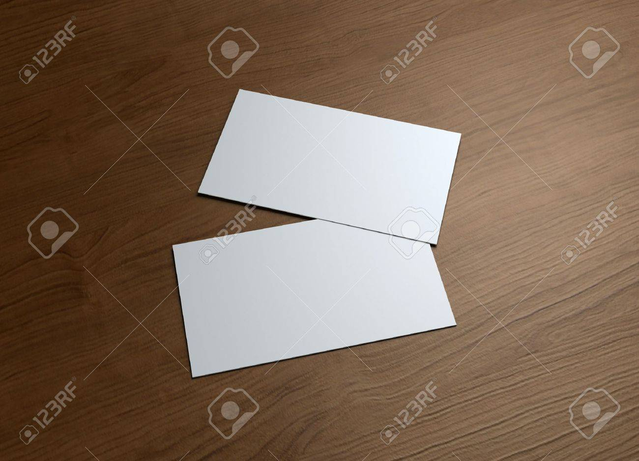 This business card presentation for promotion of Corporate identity - 12980186