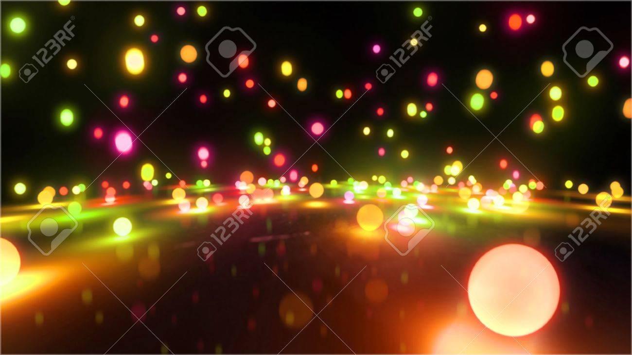 Bouncing light balls background - 20678734