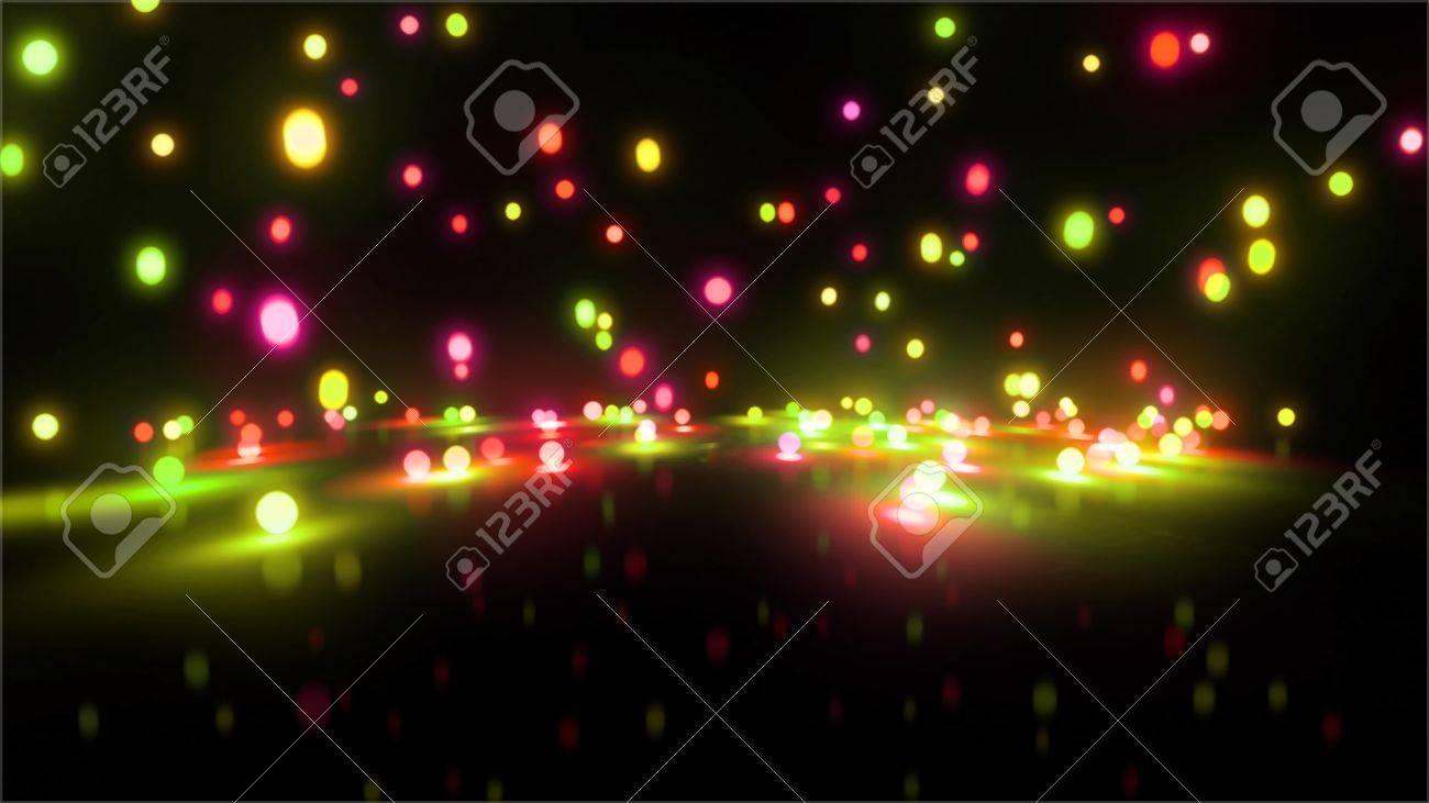 Bouncing light balls background - 20678735