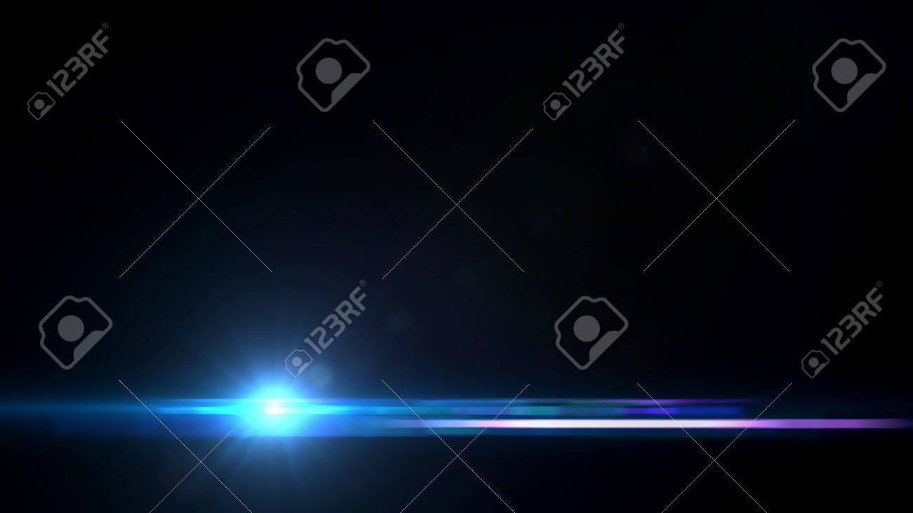 beautiful lens flare effect is simple to add on background - 21941020