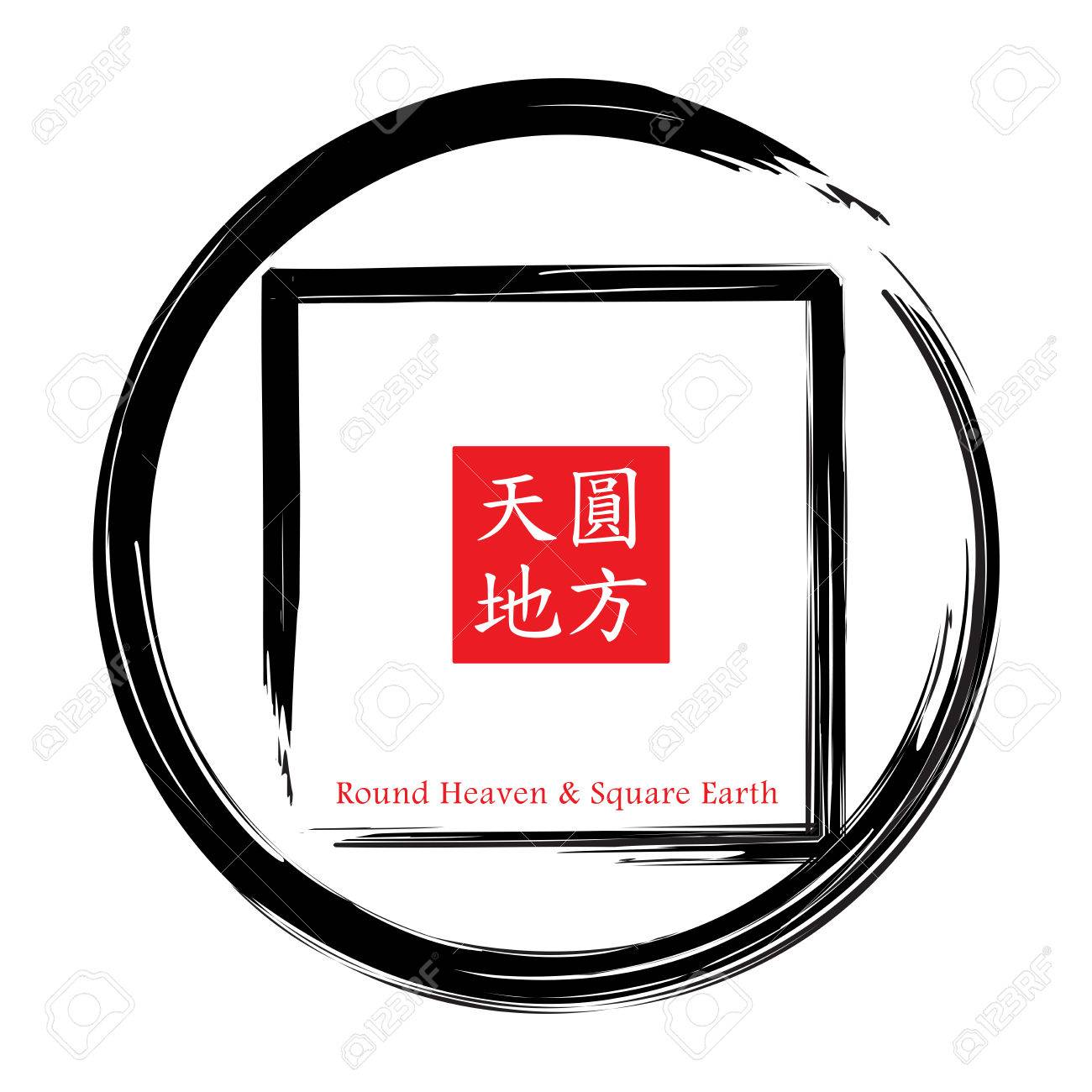 Round heaven square earth is common concept of chinese traditional round heaven square earth is common concept of chinese traditional architecture stock photo 24877733 biocorpaavc Gallery