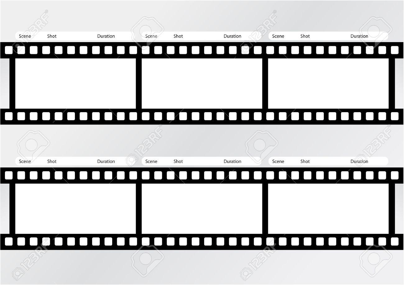 Professionelle Filmstoryboard-Vorlage Für Einfach Den Prozess Der ...