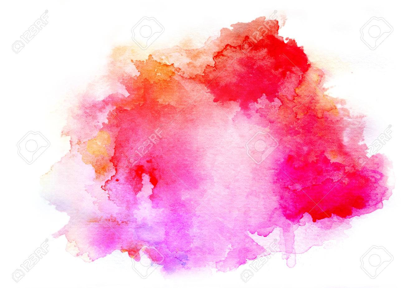 Colorful watercolor drawing for use in artistic background - 39224142