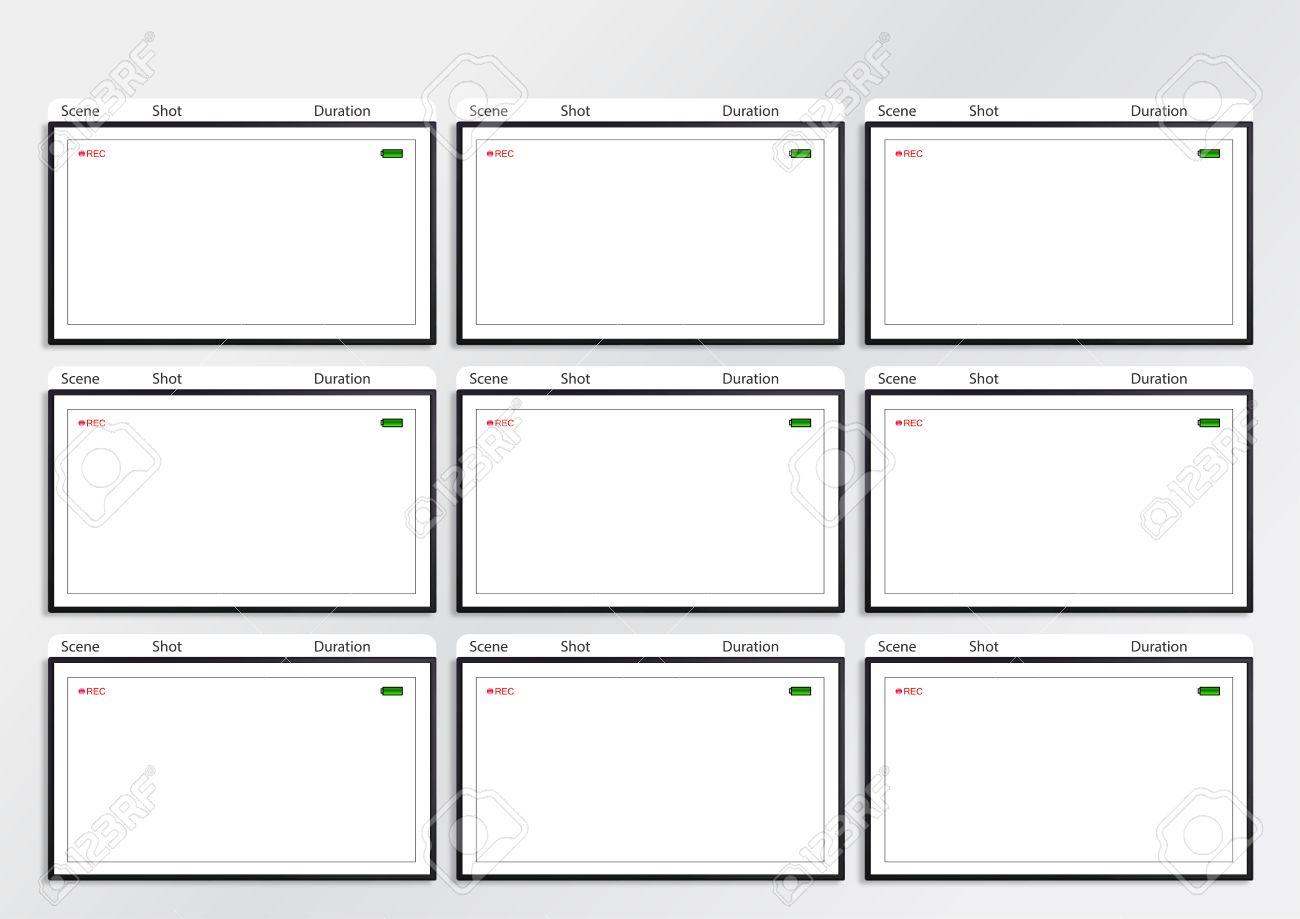 Atemberaubend Vorlage Für Ein Storyboard Ideen - Entry Level Resume ...