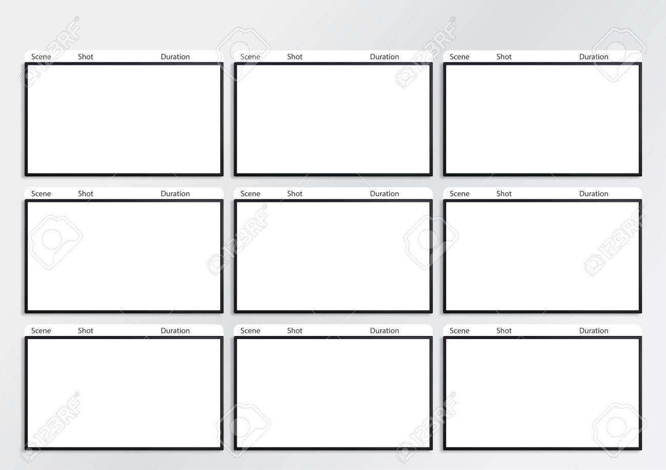 Erfreut Druckbare Storyboard Vorlagen Zeitgenössisch ...