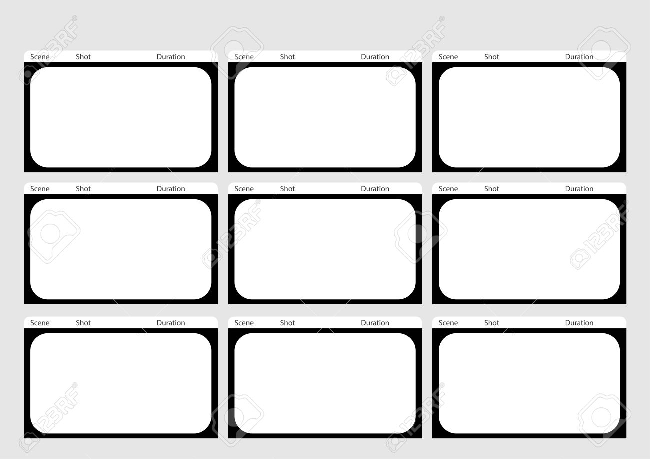 Professional Of Hd 1920 X 1080 169 Storyboard Template Is