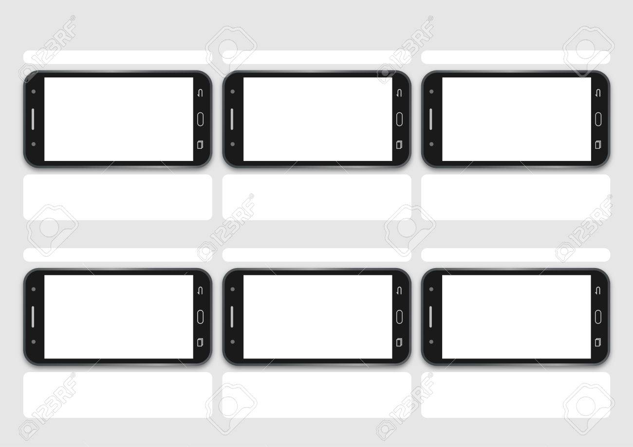 Professional of cell phone demo screen hd 1920 x 1080 template.