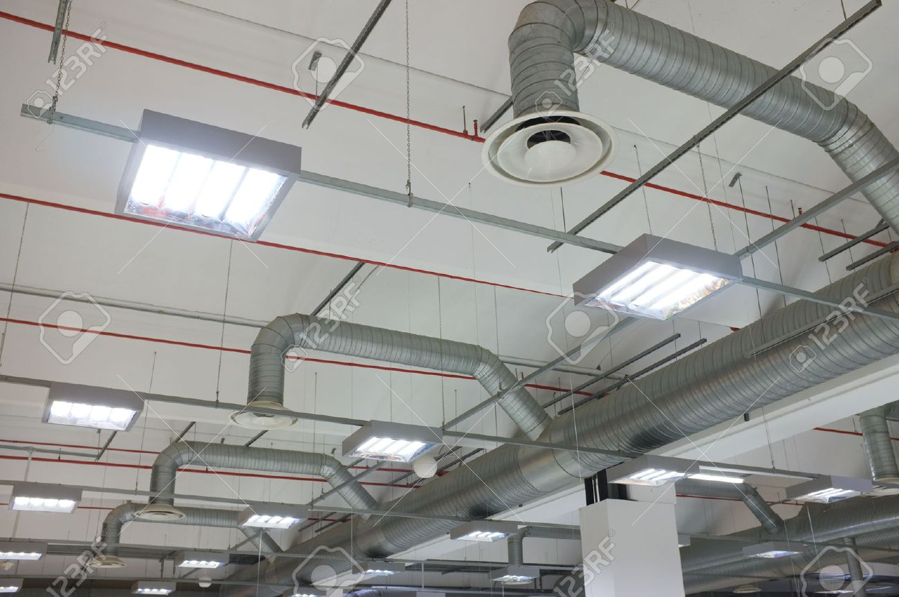 Industrial Air Conditioning System And Diffusers