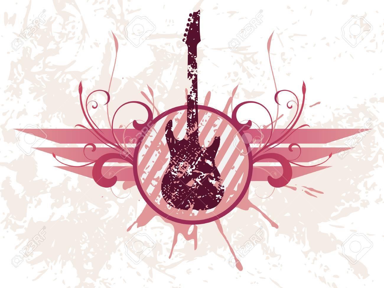 Grunge guitar - 5729608