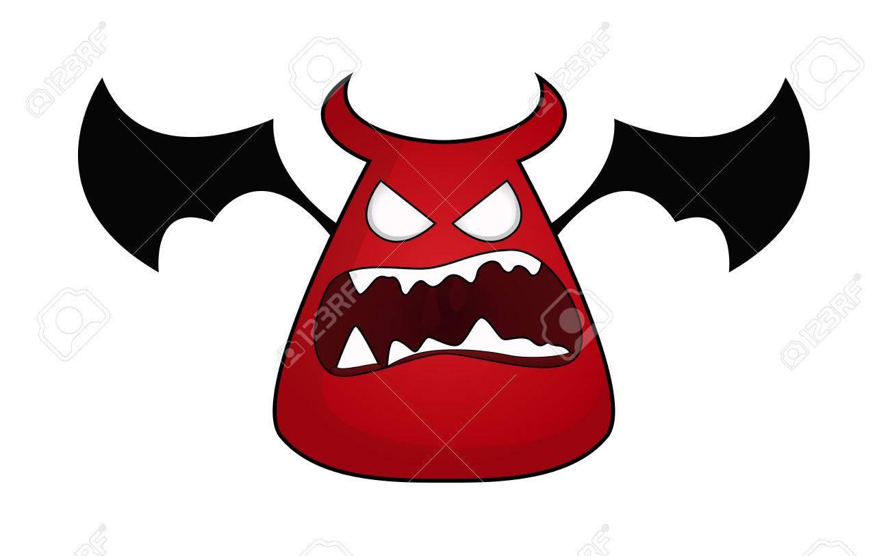 Cartoon devil Stock Vector - 9106393
