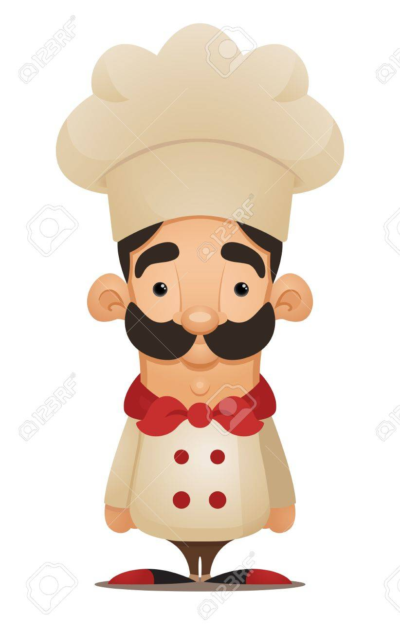Chef. Cute Cartoon Character - 12227599