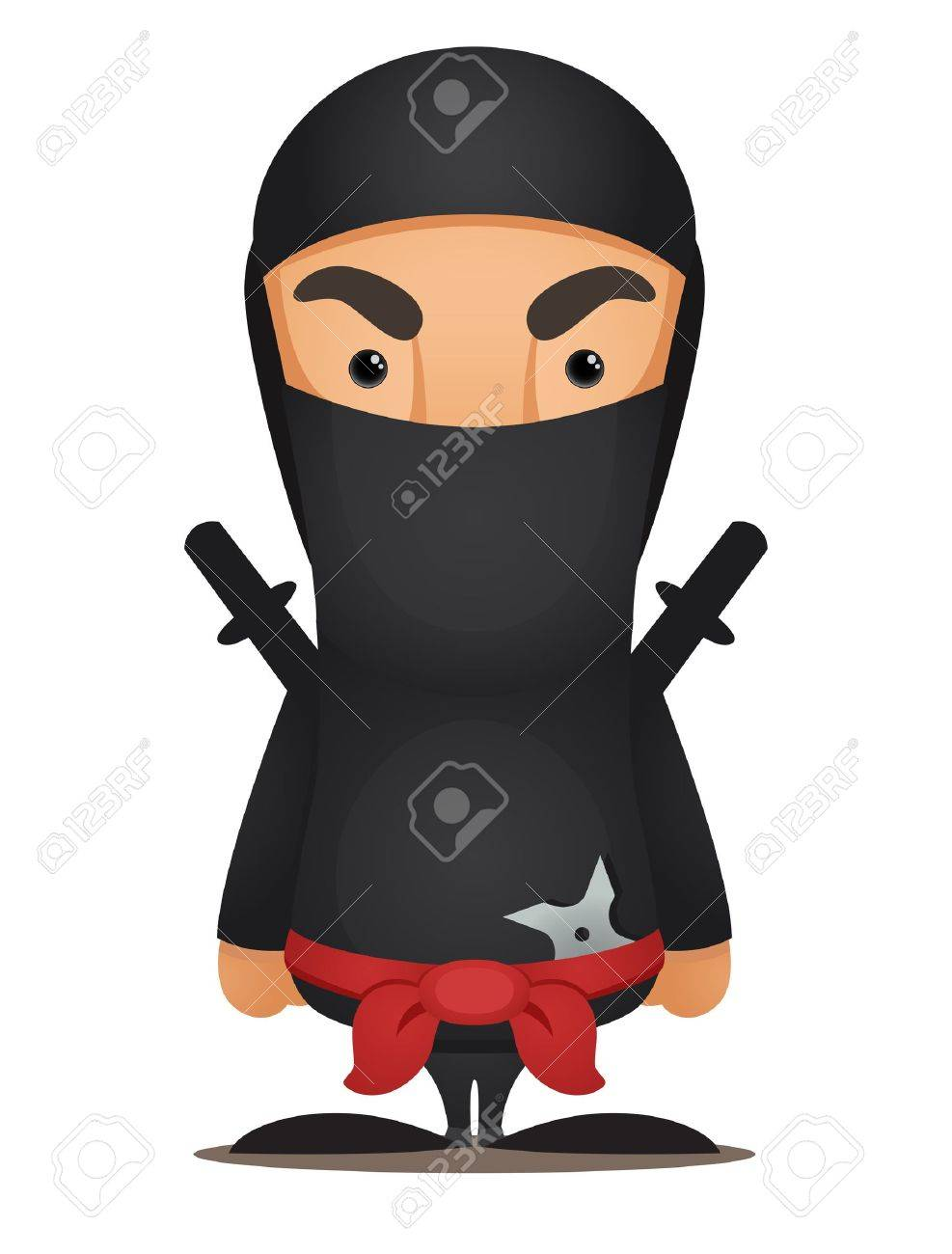 Cartoon Ninja - 13404628