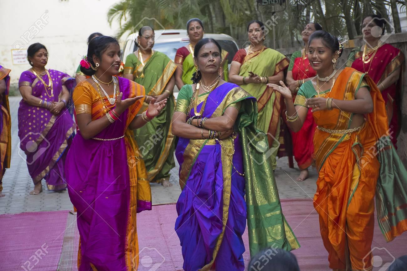 Pune Maharashtra India February 2017 Women Celebrate Baby