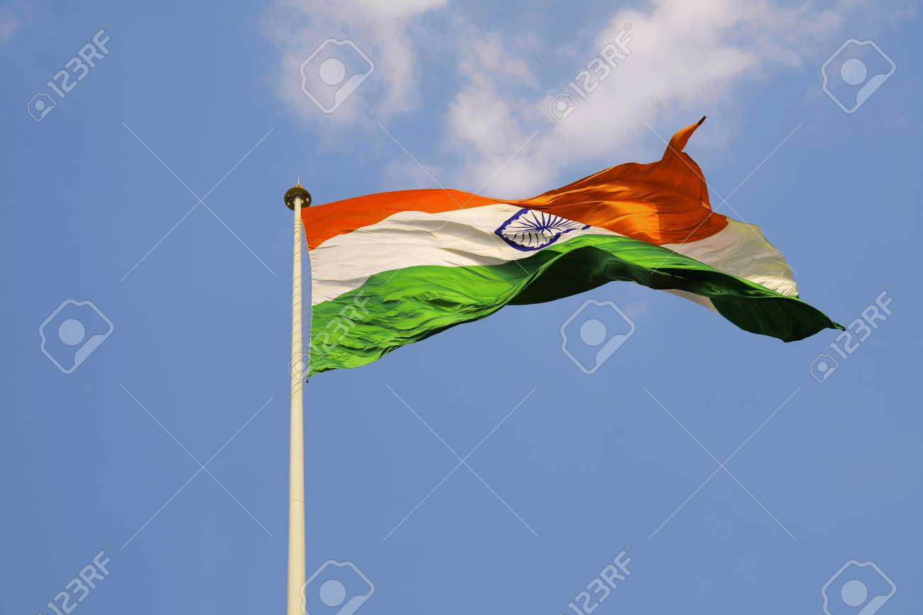Tallest Pole And Largest Indian Flag On Land At Belgavi Karnataka