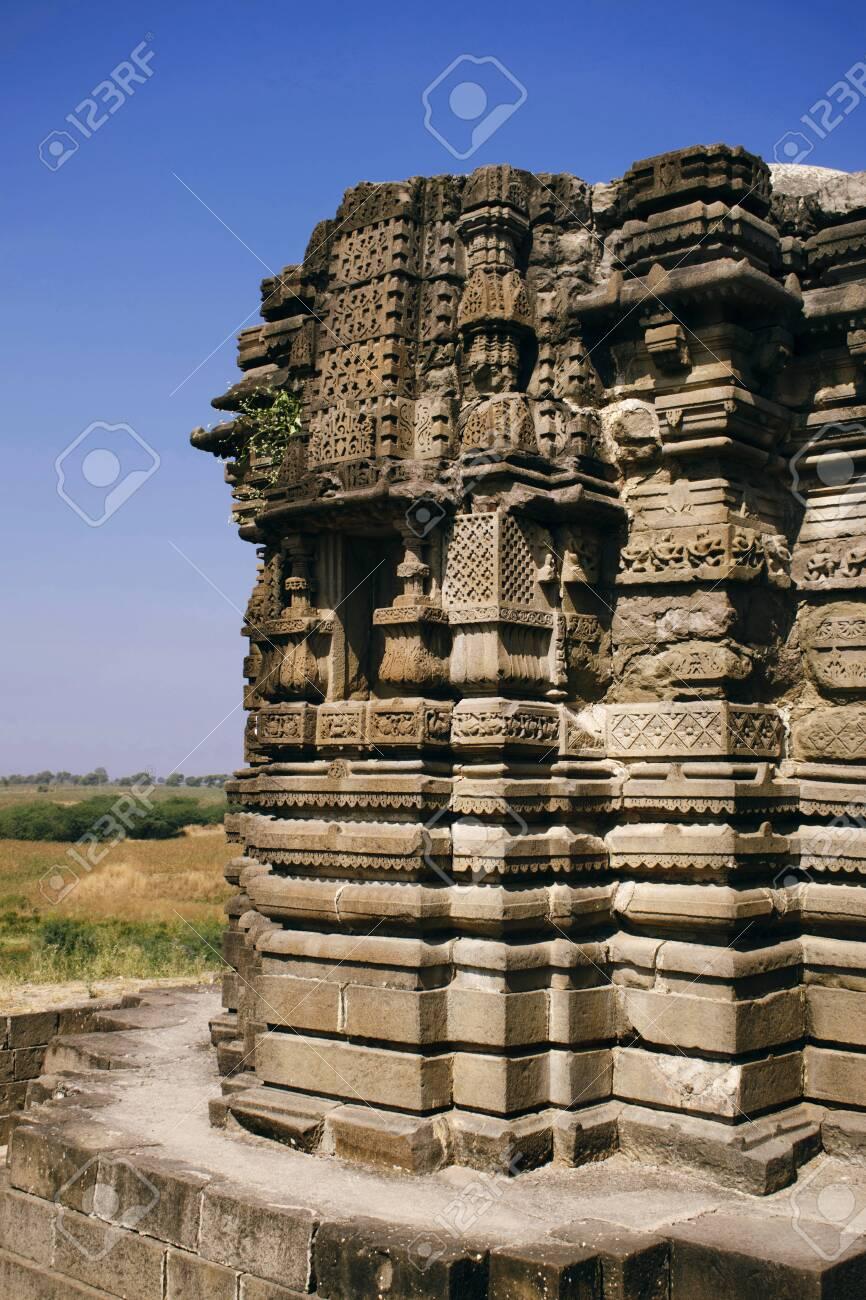 Anandeshwar temple at Lasur in Daryapur Taluka, Amravati District,