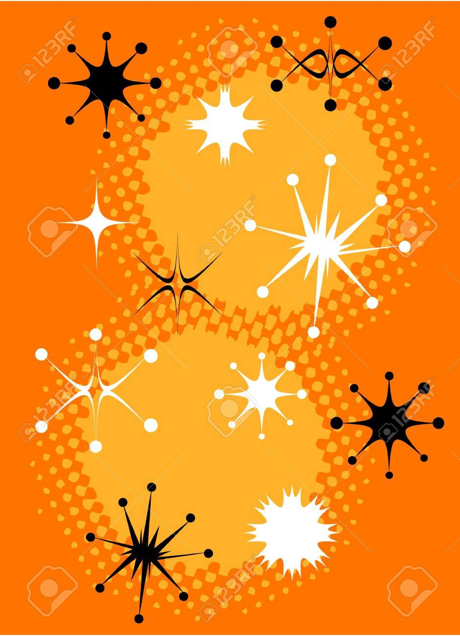 Retro Stars Clip Art Vintage Royalty Free Cliparts, Vectors, And ...