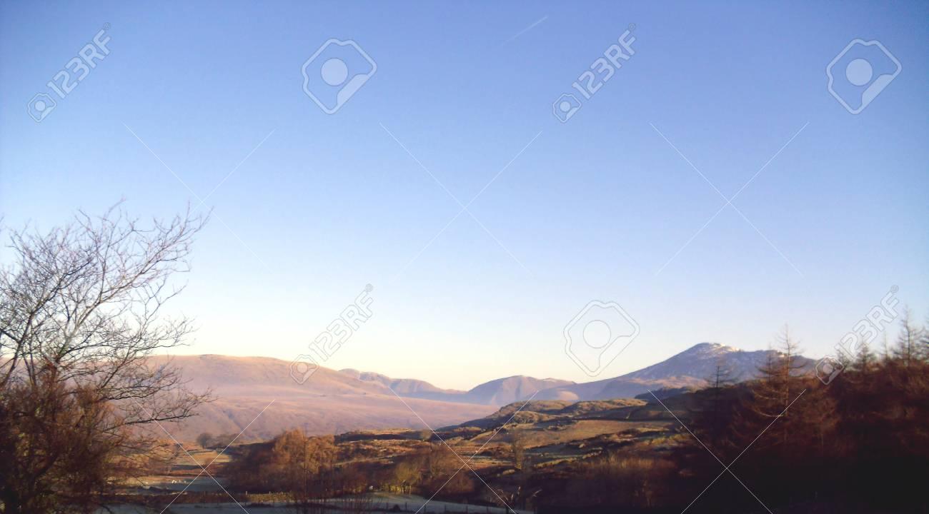 Birker Fell, Lake District, Cumbria, England Stock Photo - 24053455