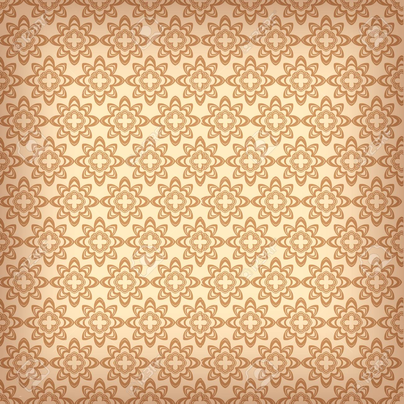 Wallpaper Pattern Old Paper Luxury Background Vector