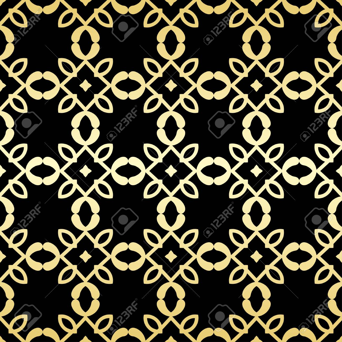 Ornamentale Tapeten Vektor Luxus Hintergrund Vintage Blumenmuster