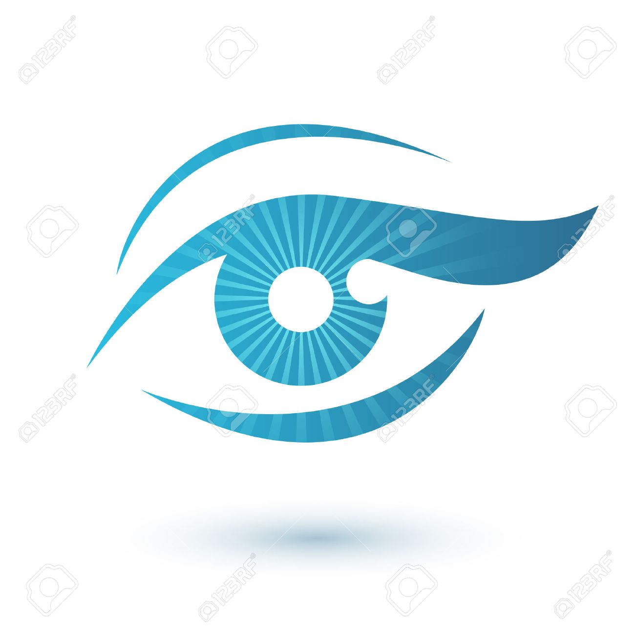 Woman Eye Icon Beauty Symbol Vision Icon Royalty Free Cliparts