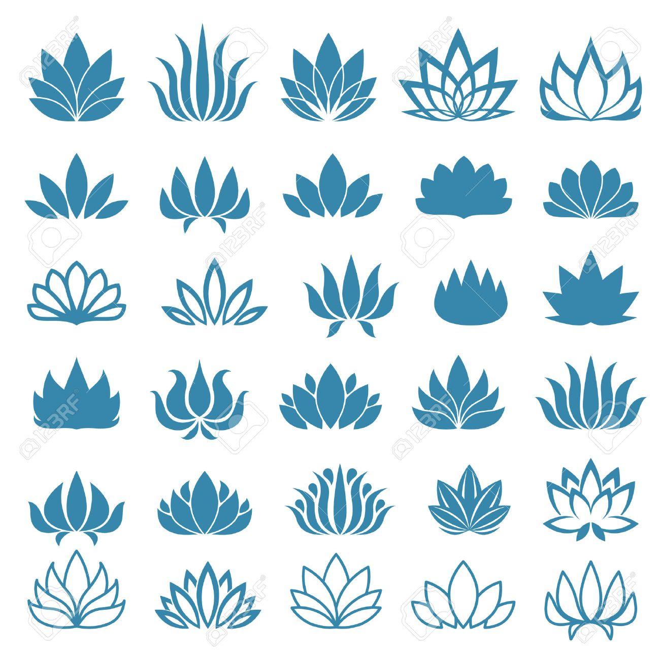 Très Dessin De Fleur De Lotus - Galerie Tatouage DA61